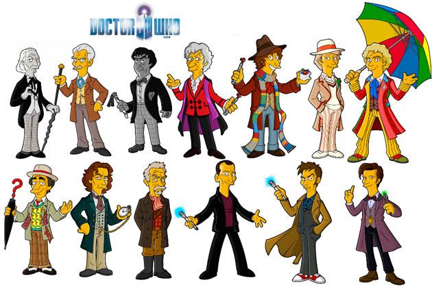 Доктор из всех сезонов Доктора Кто