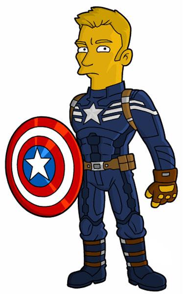Капитан Америка - пародия на Зимнего солдата