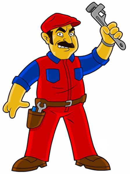Супер Марио в красном комбинезоне
