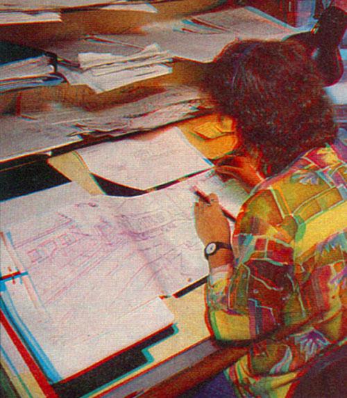 Трикарико рисует Симпсонов