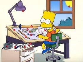 Инструмент для рисования Симпсонов