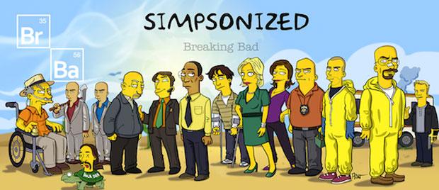 Во все тяжкие - пародия Симпсонов