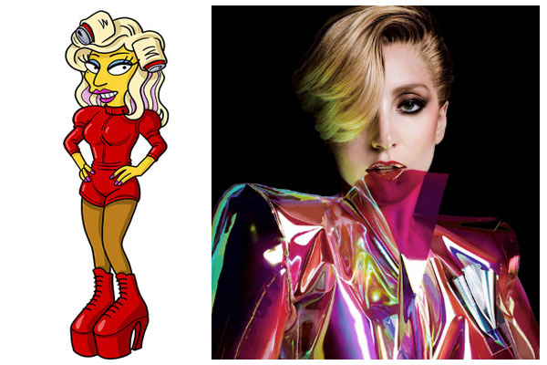 Леди Гага в Симпсонах