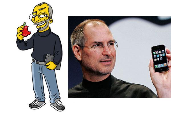 Стив Джобс в Симпсонах