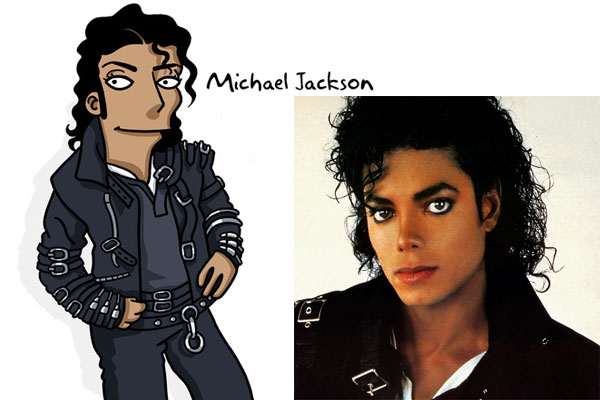 Майкл Джексон в Симпсонах