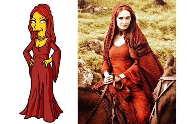 Мелисандра - Игра престолов