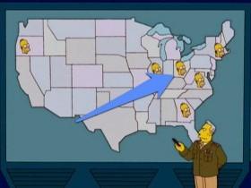 Настоящий Спрингфилд в США