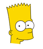 Барт Симпсон в CSS