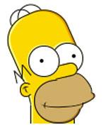 Гомер Симпсон в CSS