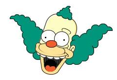 Красти клоун в CSS