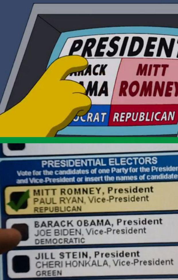 Неисправная машина для голосований