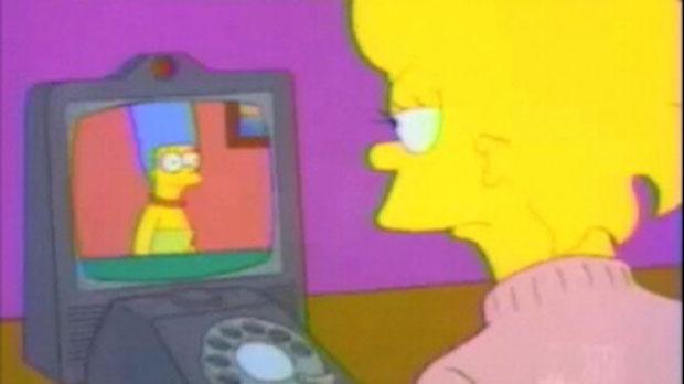 Видеотелефон в Симпсонах
