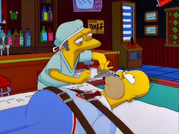 Карандаш в голове Гомера