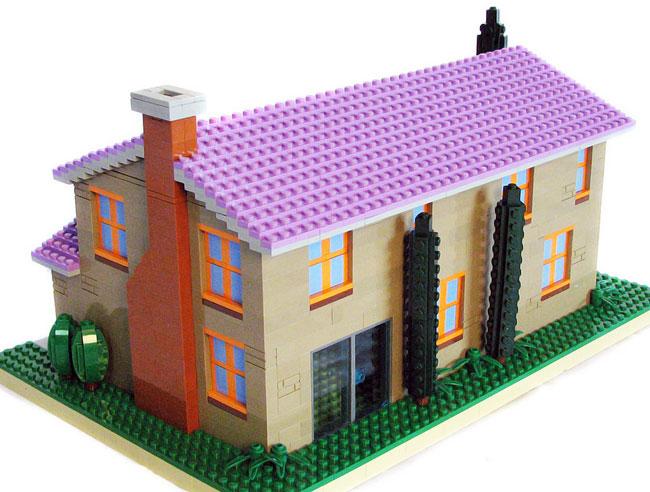 Дом Фландерса из лего