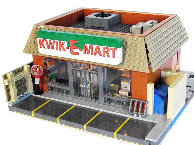 kwik-e-mart из лего