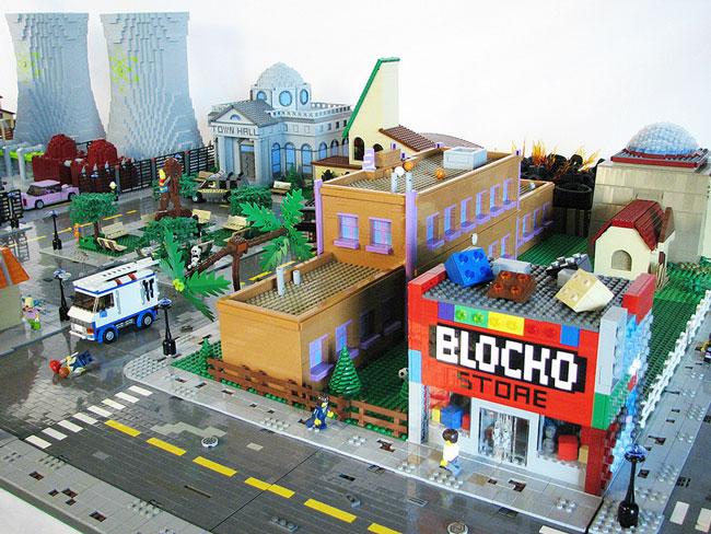 Магазин блоко из Лего