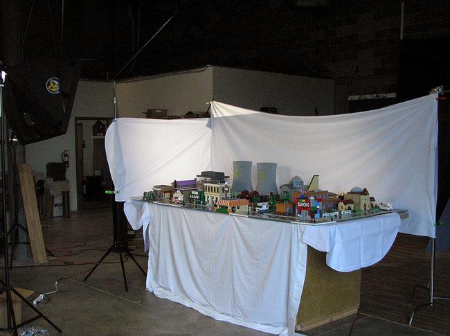 Диарама Спрингфилд на выставке