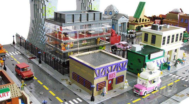 Спрингфилд из Лего