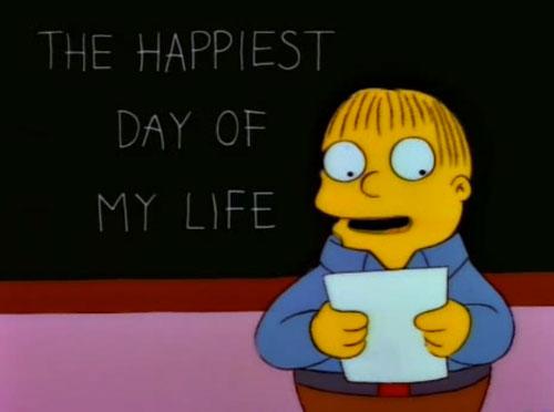 Ральф: самый счастливый день в моей жизни