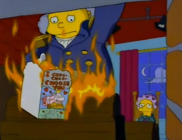 Ральф сжигает валентинку