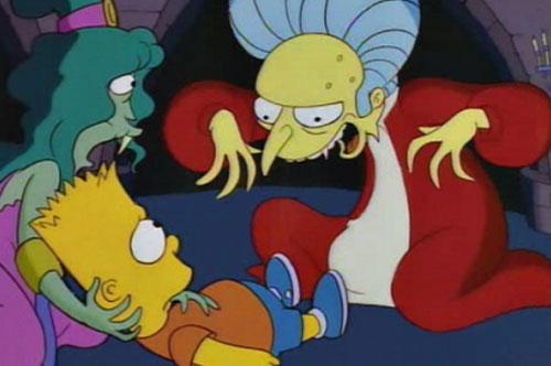 Барт и дракула