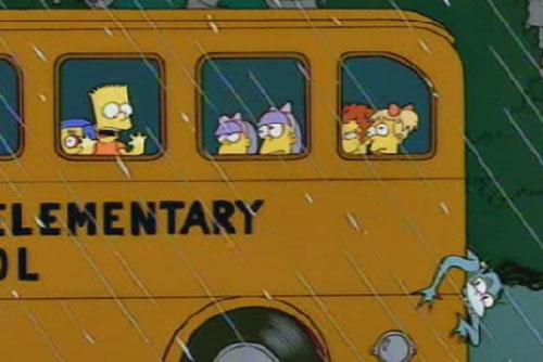 Домик ужасов Симпсоны