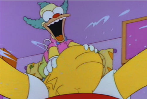Ужасы Симпсоны