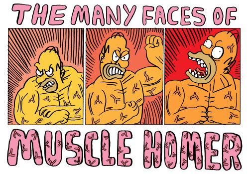 Гомер спортсмен бидибилдер