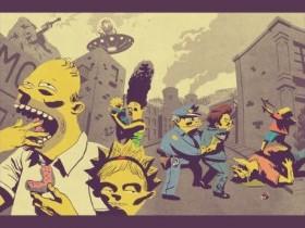 Фан рисунки Симпсонов