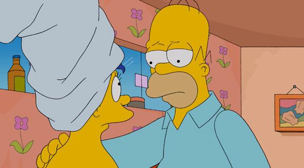 Разговор Мардж и Гомера