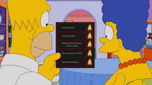 Отличные отметки Барта