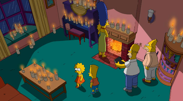 Гомер вызывает призраков