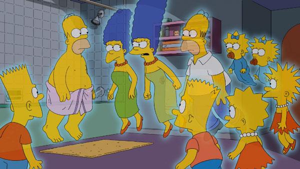 Призраки Симпсоны
