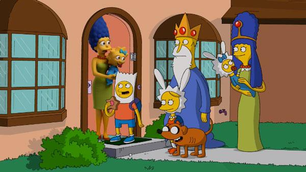 Симпсоны пародия на игру престолов