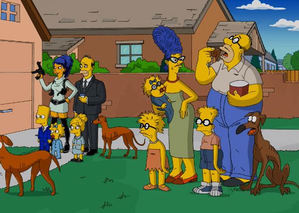 Пародия на Симпсонов