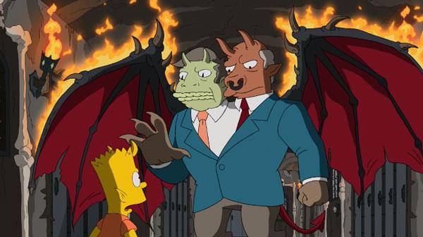 Скиннер и Чалмерс в аду