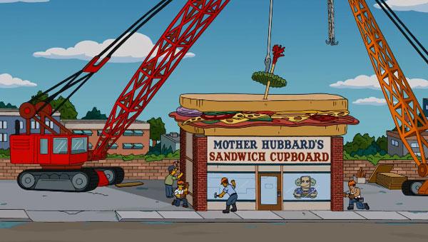 Магазин сэндвичей Мардж