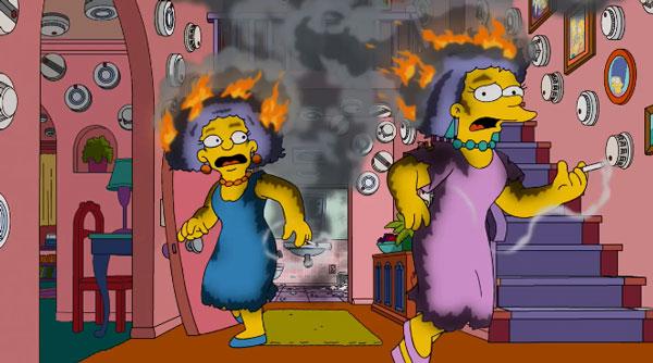 Пэтти и Сельма горят