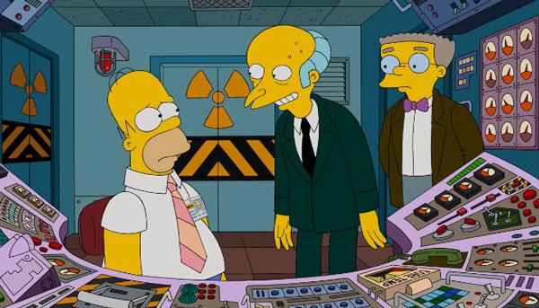 Бернс и Гомер