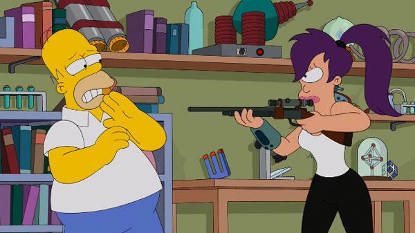 Лила хочет убить Гомера Симпсона