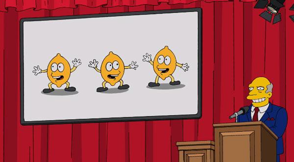 Ежегодный танец лимончиков
