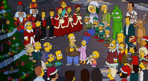 Мардж и Гомер счастливы