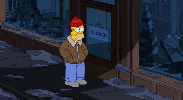 Гомер один ночью
