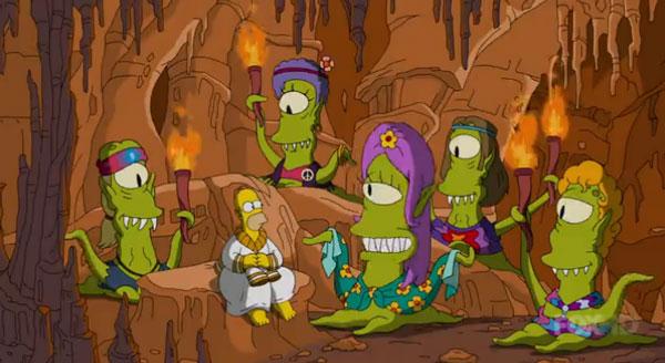 Гомер среди добрых инопланетян