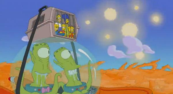 Симпсоны на другой планете