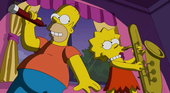 Гомер и Лиза