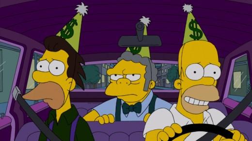 Ленни, Мо и Гомер