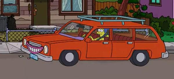 Мардж подрабатывает водителем