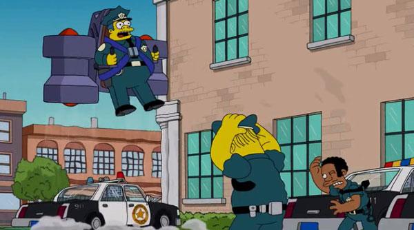 Летающий полицейский