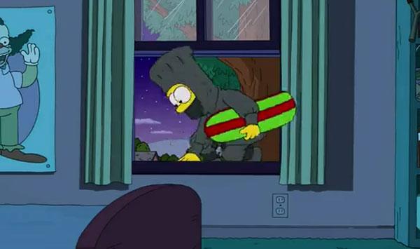 Барт убегает из дома